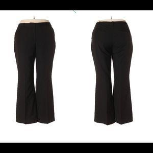 Ann Taylor Loft Black Dress Pants
